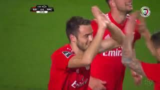 Goal   Golo Ferro: Benfica (6)-0 Nacional (Liga 18/19 #21)