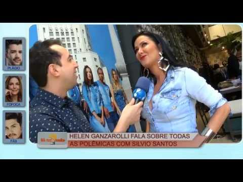 Helen Ganzarolli revela segredos de Silvio Santos 04.01.17