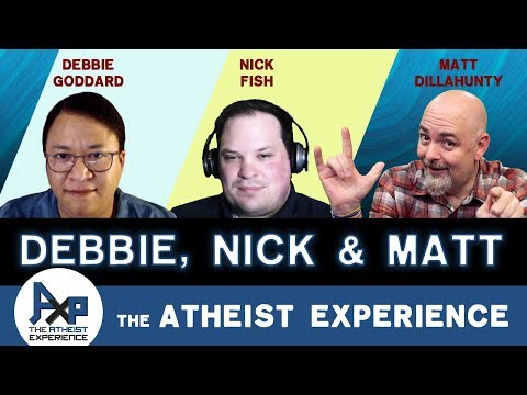 Atheist Experience 24.15 With Matt Dillahunty, Nick Fish, & Debbie Goddard Of American Atheists