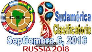 FIFA  - IDO CLASIFICACIÓN MUNDIAL SUDAMÉRICA - CHILE VS ECUADOR Gran en las Eliminatorias de la CONMEBOL con los Ecuador vs Argentina - Perú vs