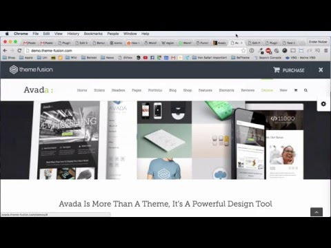 Avada WordPress Theme –  Einführung in den Fusion Builder (Deutsch)