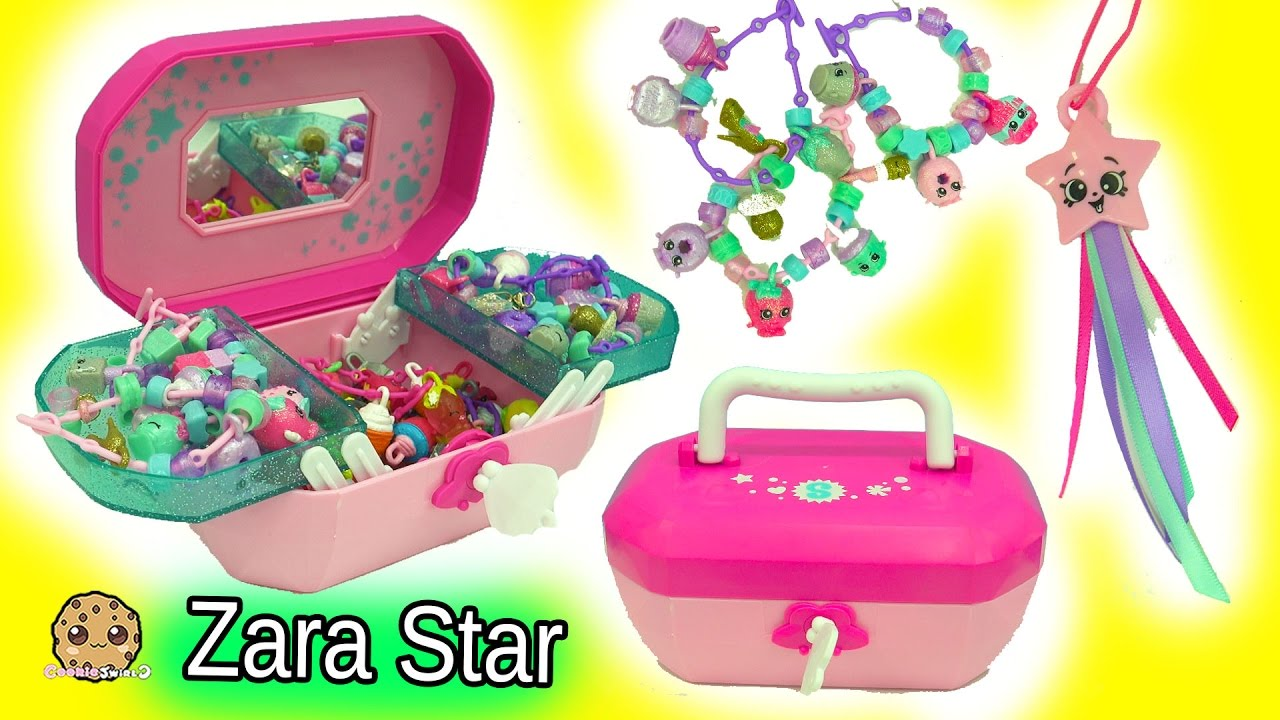 shopkins jewelry box 18 exclusive shopkins charms sea