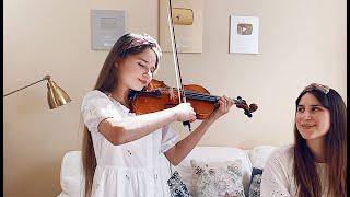 Ave Maria - Violin and Piano - Mom and Daughter - Karolina Protsenko