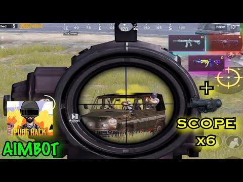 I AM A SUPER CHEATER + AIMBOT ? | Full Scope X6 - PUBG Mobile