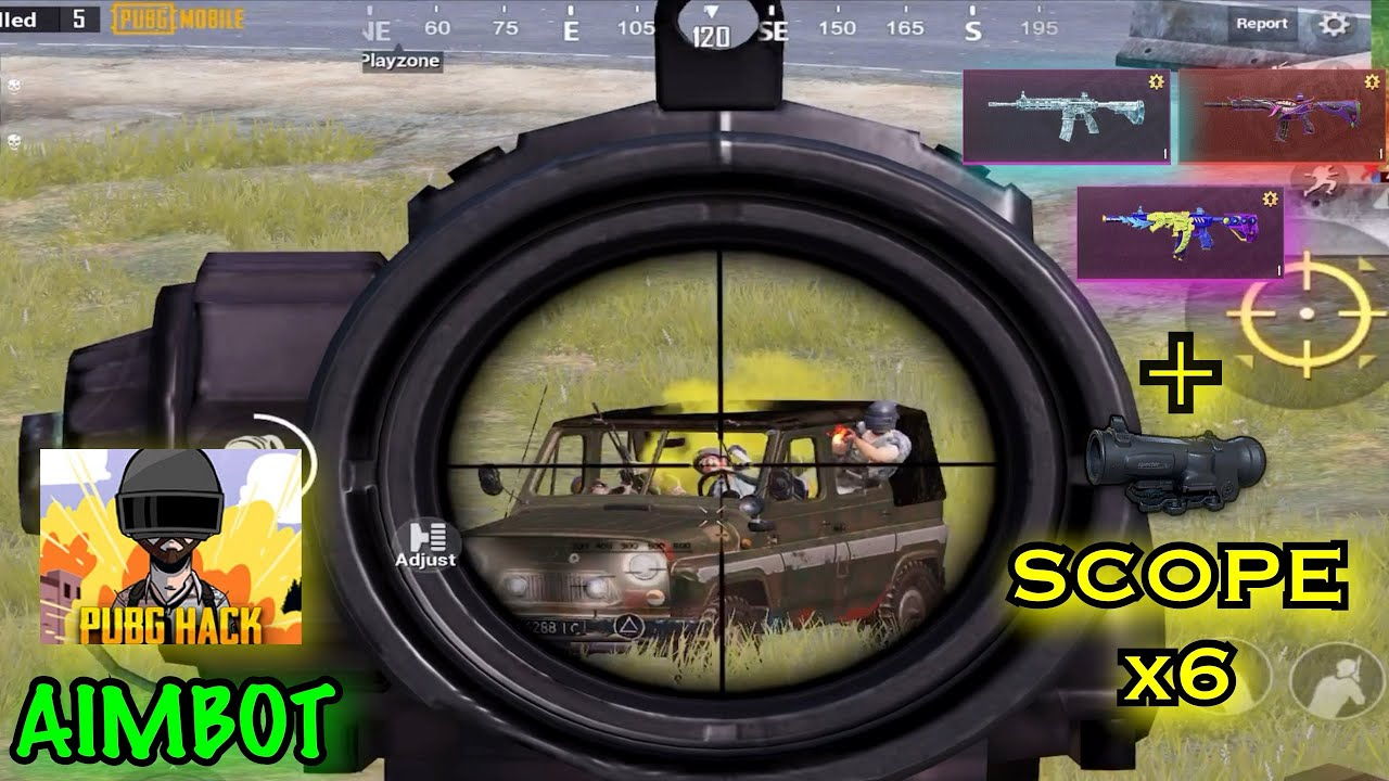 I AM A SUPER CHEATER + AIMBOT ? | Full Scope x6 - PUBG Mobile
