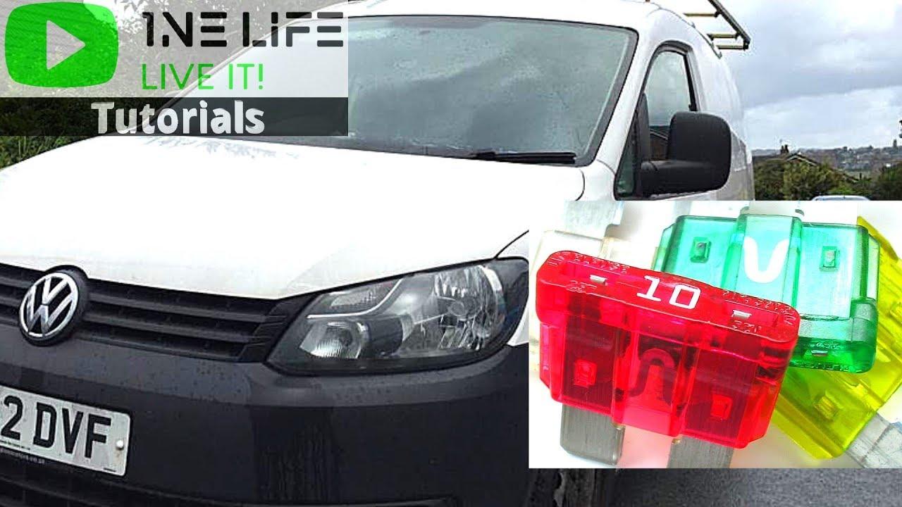 [SCHEMATICS_4LK]  Volkswagen Caddy - Fuse Box Locations - YouTube | Vw Caddy Fuse Box 2012 |  | YouTube