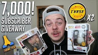 Baixar 7,000 Subscriber Giveaway! (2 Funk Pop Chases)