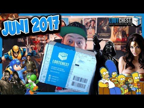 LOOTCHEST BOX 📦 | ALTER IST DIE SCHWER ! 😱 | JUNI 2017 | GRATIS BOX FÜR EUCH !