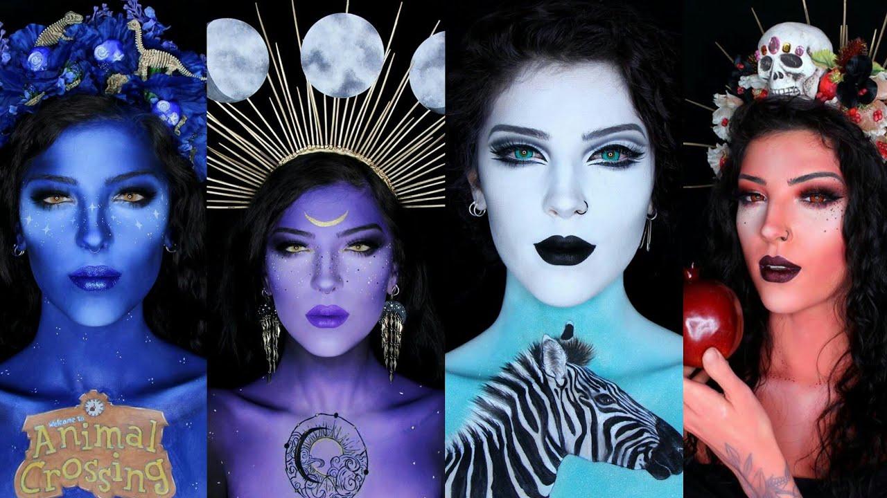 Tutorial Makeup fantasy simple compilation part 3