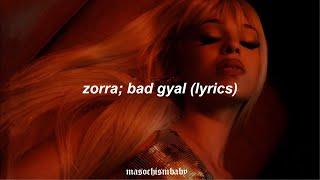 ZORRA // BAD GYAL (LYRICS).mp3