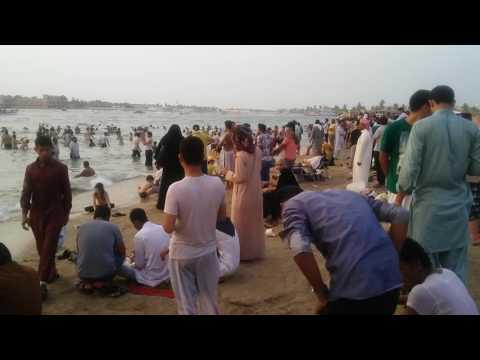 Jeddah Cornishe Beach Saudi Arabia
