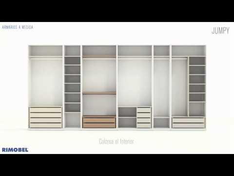 Armarios modulares para dormitorios juveniles sistema qb - Armarios para habitaciones pequenas ...