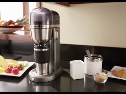 kitchenaid coffee to go kaffeemaschine kcm0402 youtube. Black Bedroom Furniture Sets. Home Design Ideas