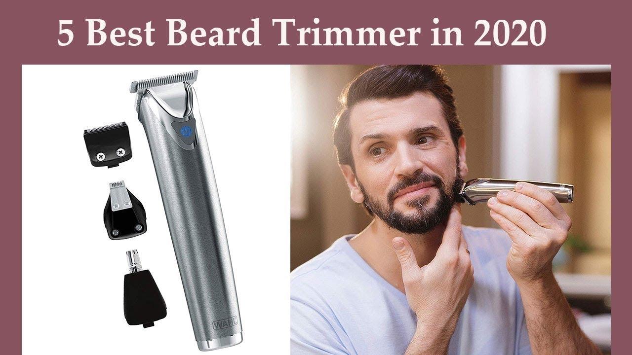 Best Beard Trimmer 2020.Top 5 Best Beard Trimmer