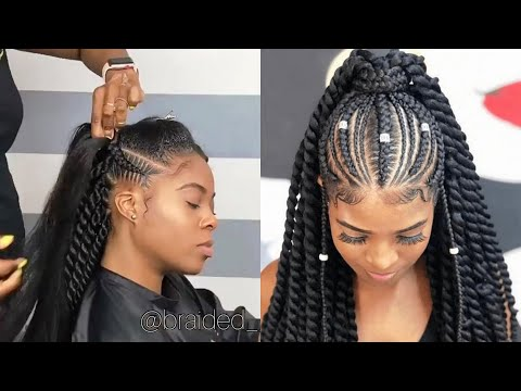 ❤️❤️just-trendmaking!!!-new-styles-#braids-hairstyles-for-ladies:-cutest-&-lovely-braids-styles