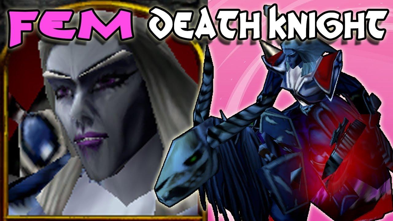 Female Death Knight Youtube