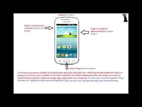 Vraćanje samsung android telefona na fabrička podešavanja - Samsung Galaxy hard ( factory) reset