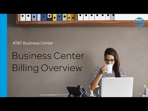 Billing Overview - AT&T Business Center