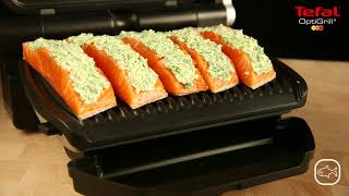 How to grill fish | Tefal OptiGrill Smart Grill