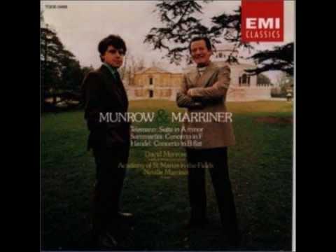 Munrow&Marriner Telemann Suite in A Minor   マンロウ&マリナー テレマン 組曲イ短調