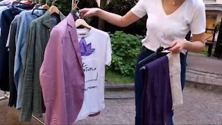 Обучение мужскому стилю. Два модных образа с пиджаком в клетку и футболкой с рисунком.