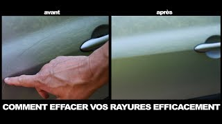 COMMENT EFFACER VOS RAYURES .KIT 3M EFFACE RAYURE