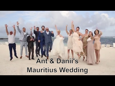 Our Wedding Day... Ant & Danii Canavan - Mauritius, 24th March 2017