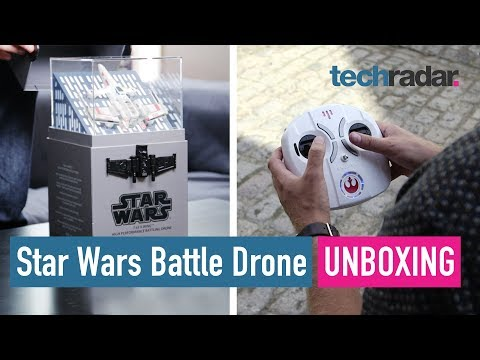 Download Youtube: Star Wars Battling Drone unboxing (X-wing)
