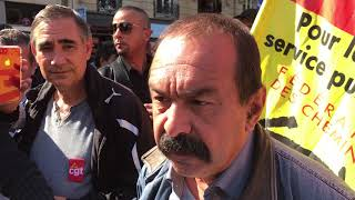 Paris. Manifestation contre la réforme du code de travail