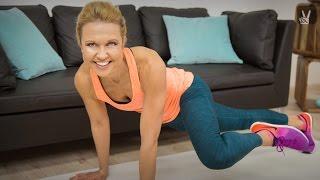 Fitness Workout – Stützübungen mit Hannah Fühler