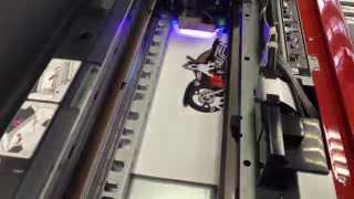 Печать на пластике ПВХ УФ принтер SpringSun UV4280(, 2014-04-14T11:45:05.000Z)