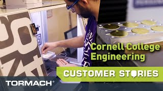 Cornell College Engineering Program Innovates with Tormach Machines
