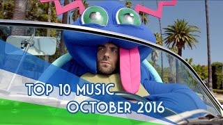 The Top 10 Music Videos «October/Octubre» (16/10/2016)