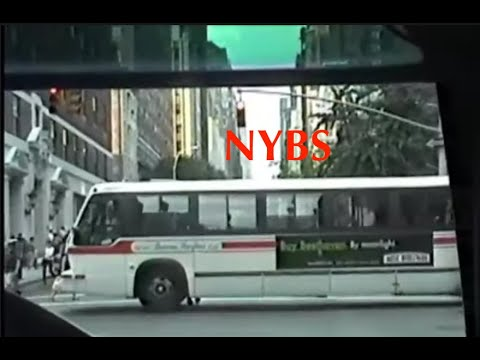 Riding a Fishbowl to Parkchester - 1998 NY Bus Service