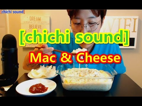 [chichi sound]BEGLE -  Mac & Cheese 맥앤치즈 먹방(mukbang) in Canada !!