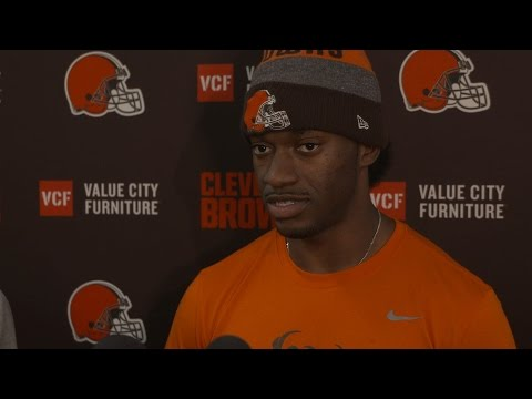"Robert Griffin III: ""Not afraid of hard work"""