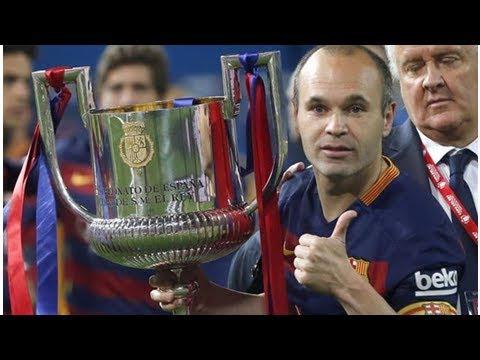 Final Copa del Rey: La despedida de Iniesta, el rey de Copas que creyó que este título también es...