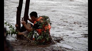 Heavy Rainstorms Drench Chinese Capital