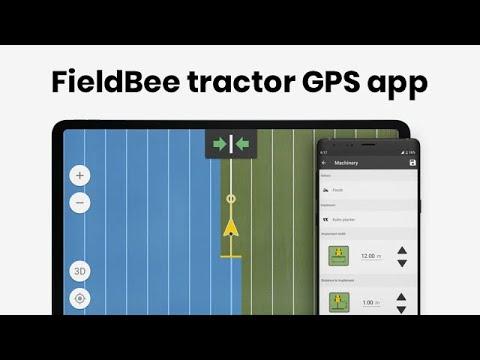 FieldBee tractor GPS app - Start your precision farming