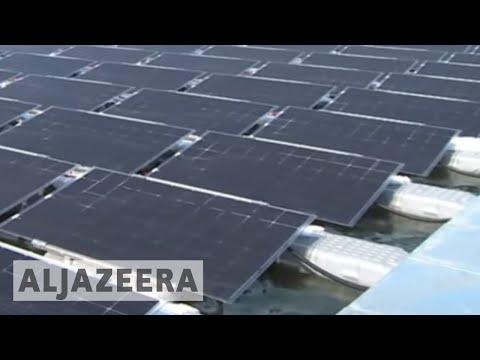 Al Jazeera English: China builds largest floating solar farm in the world