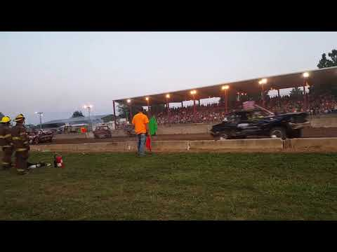 Demo Derby - Coles County Fair 2018