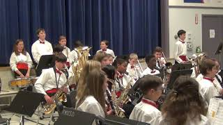 RVCS Concert Band perform Mosswood Lullaby