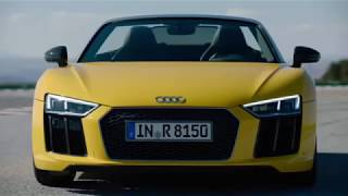 !! New Video 2018 Lamborghini Huracan Vs 2018 Audi R8 Spyder !!