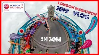 My London Marathon 2019 Run in 3h30m.