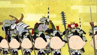 平家物語:屋島の闘い  The Tale of the Heike: Battle of Yashima