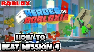 HEROES VON ROBLOXIA! BEATING MISSION 4! | Roblox