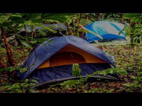 3 Heures Pluie Sur Une Tente Sommeil Profond Et Relaxation Avec Les Sons De La Nature Youtube