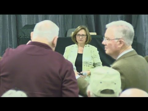 U.S. Sen. Deb Fischer hosts a town hall in Kearney