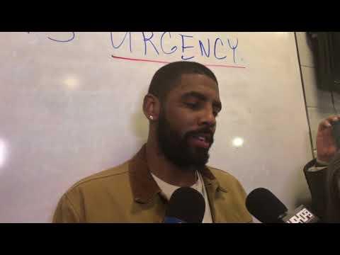 Kyrie Irving Post Game Interview Part 1 | Boston Celtics vs. Atlanta Hawks | November 18, 2017