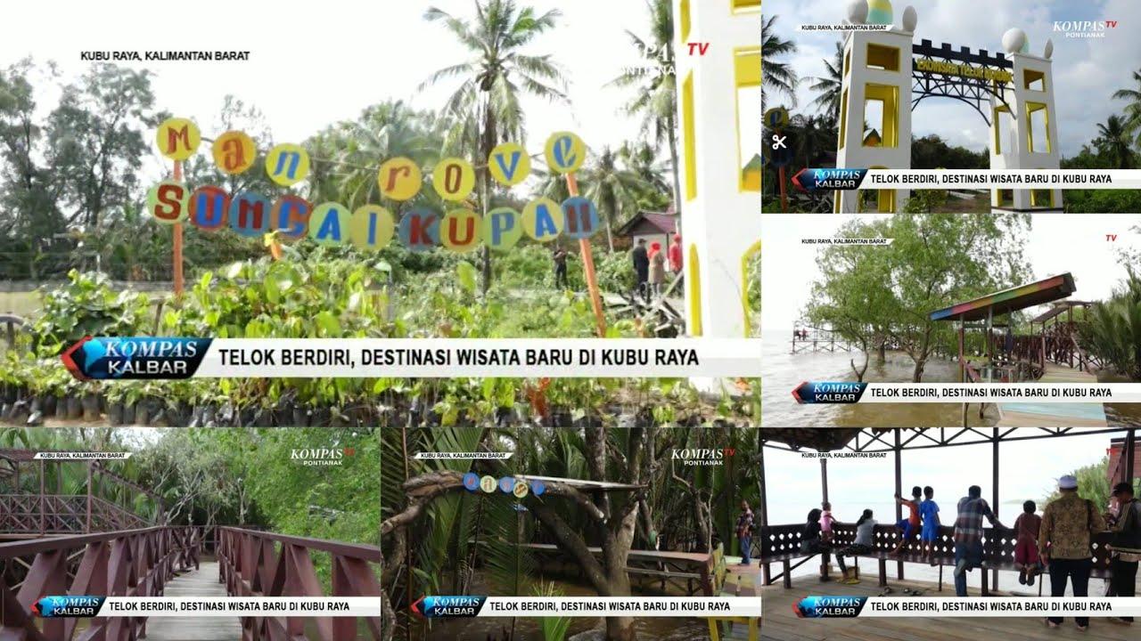 Wisata Telok Berdiri Sungai Kupah Destinasi Wisata Baru Di Kubu Raya Youtube